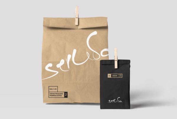 Seruba - Branding - Coffee Bag Design